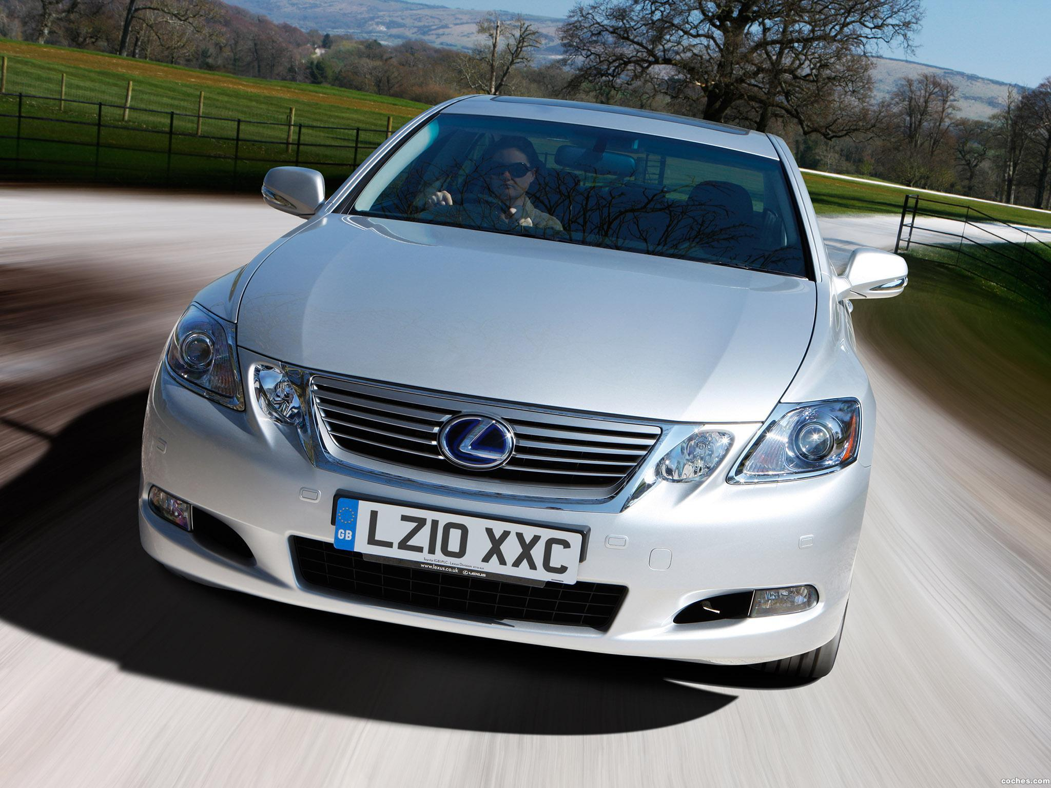 Foto 4 de Lexus GS 450h UK 2010