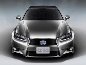 Ver foto 3 de Lexus GS 450h Japan 2012