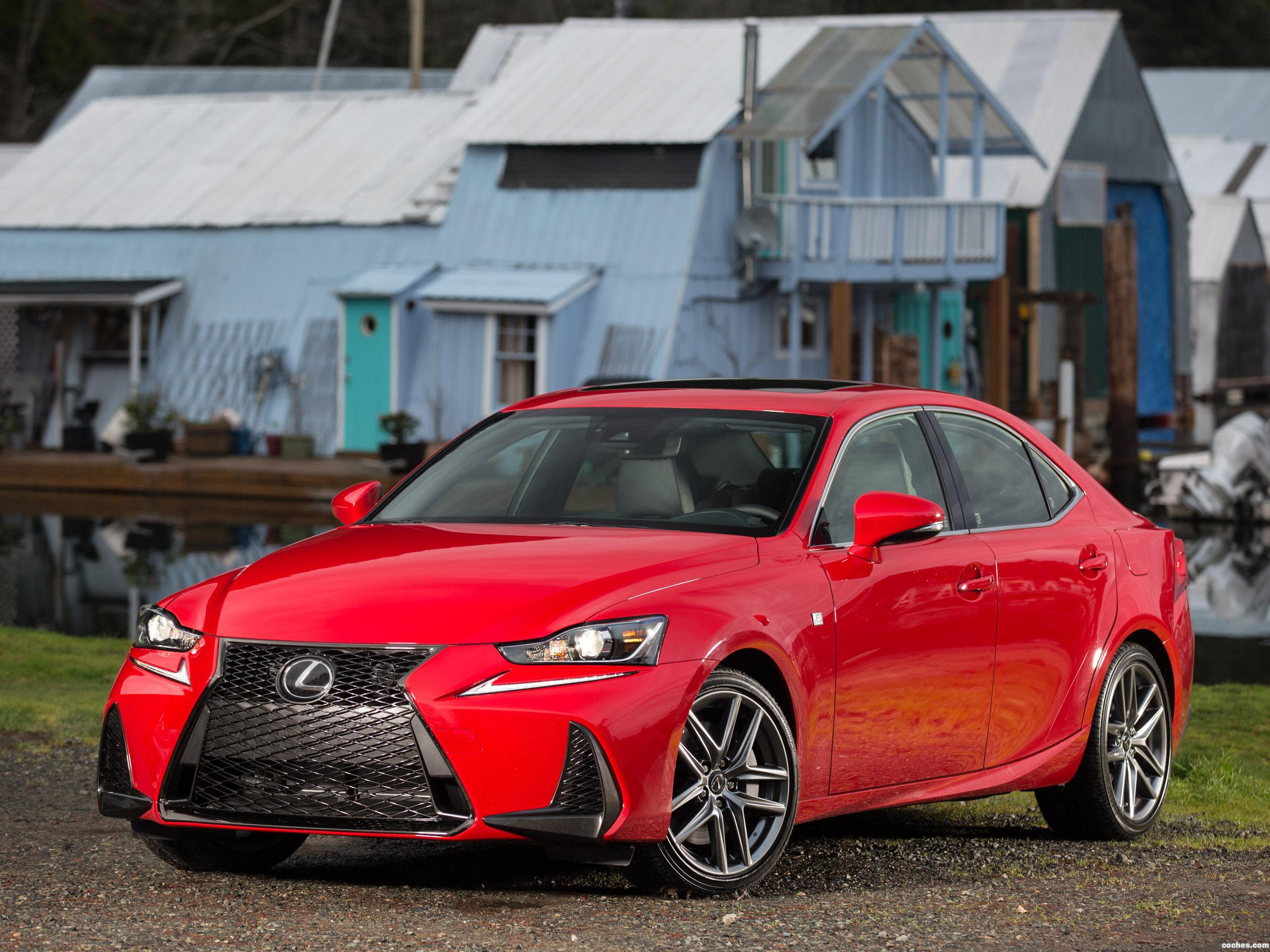 Foto 1 de Lexus IS 200 F-Sport XE30 USA 2016