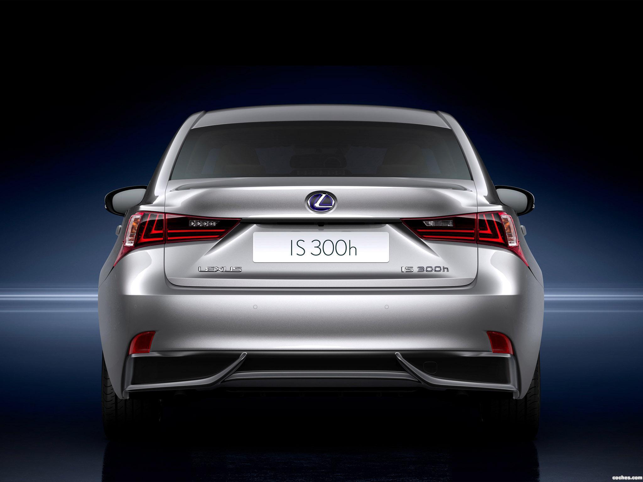 Foto 2 de Lexus IS 300h 2013