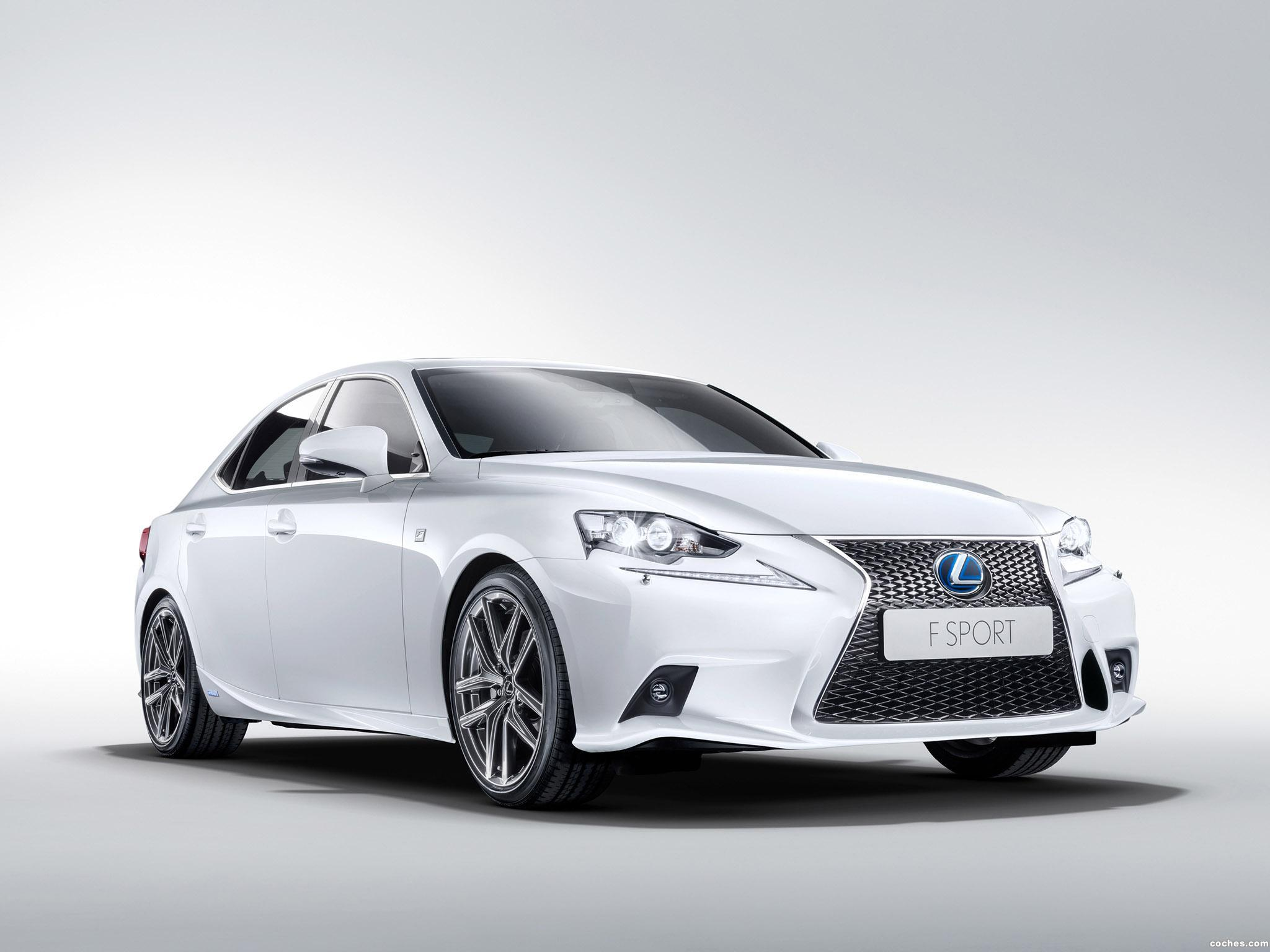 Foto 0 de Lexus IS 300h F-Sport 2013