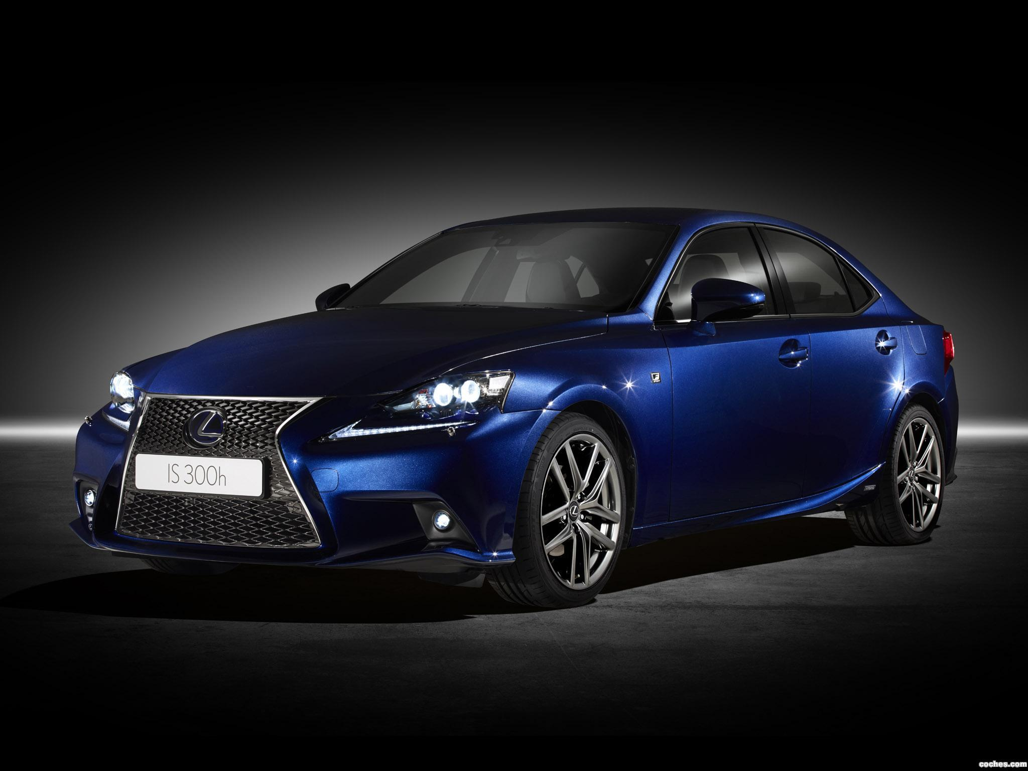 Foto 0 de Lexus IS 300h F-Sport Europe 2013
