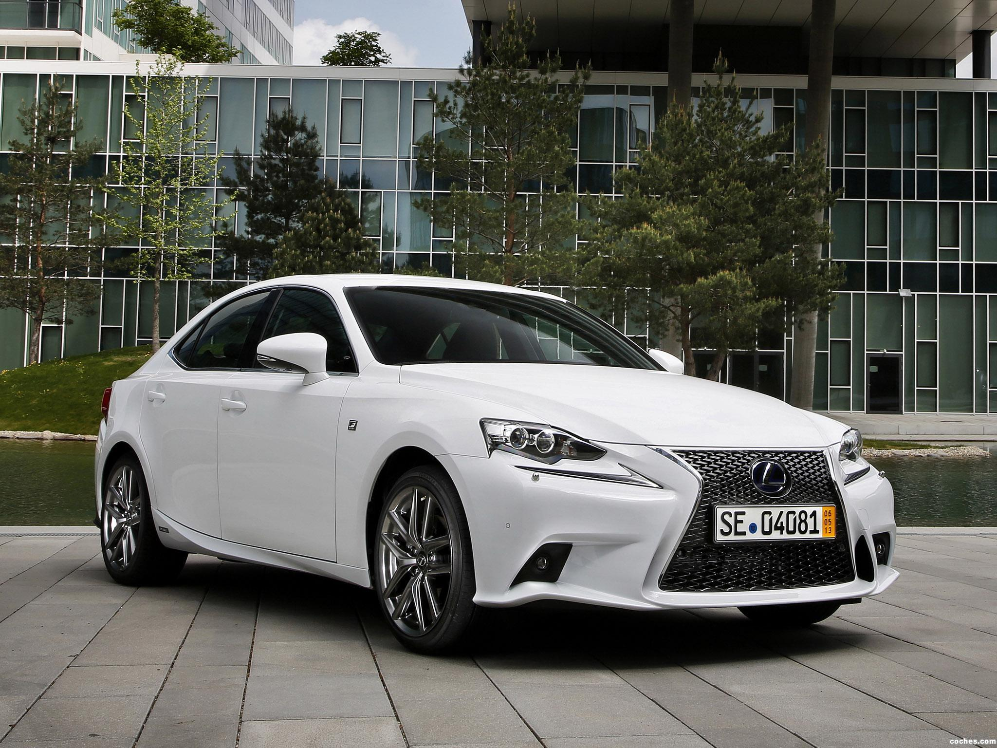 Foto 16 de Lexus IS 300h F-Sport Europe 2013