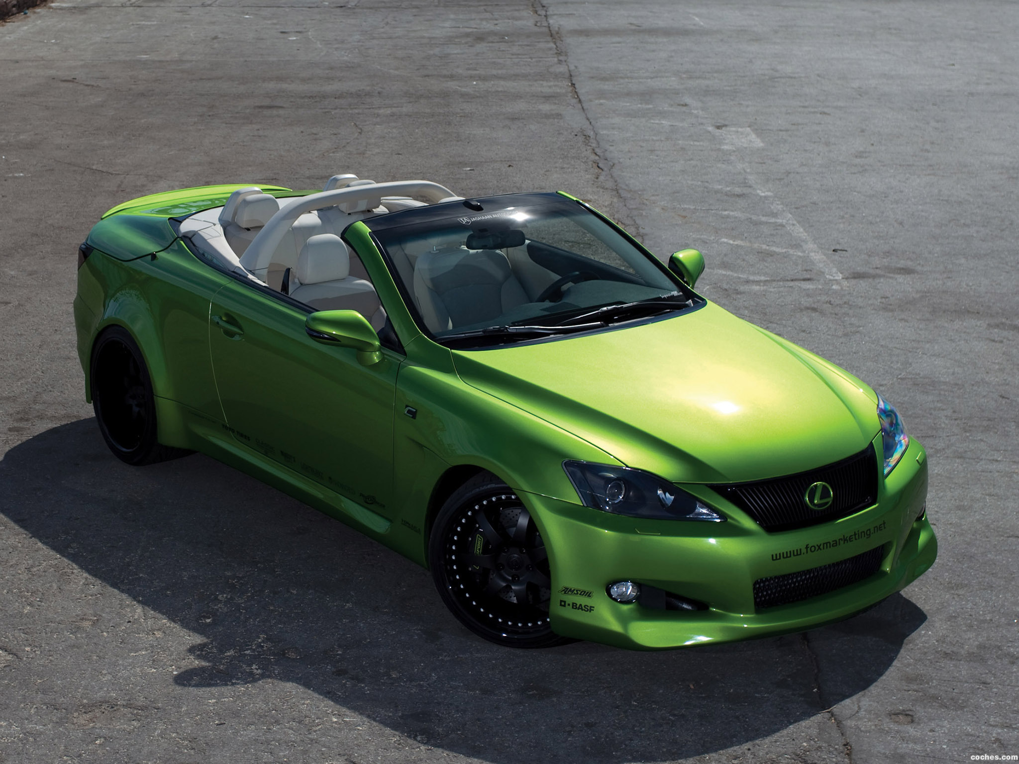 Foto 0 de Lexus IS 350C Supercharged V6 by Fox Marketing 2009