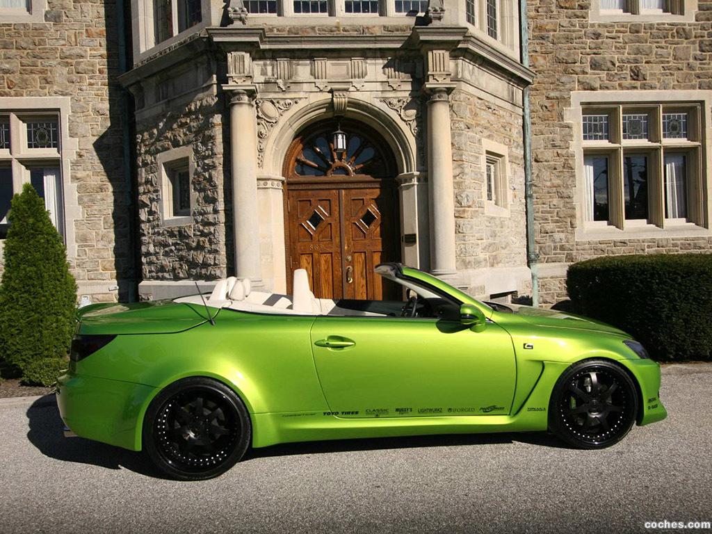 Foto 8 de Lexus IS 350C Supercharged V6 by Fox Marketing 2009
