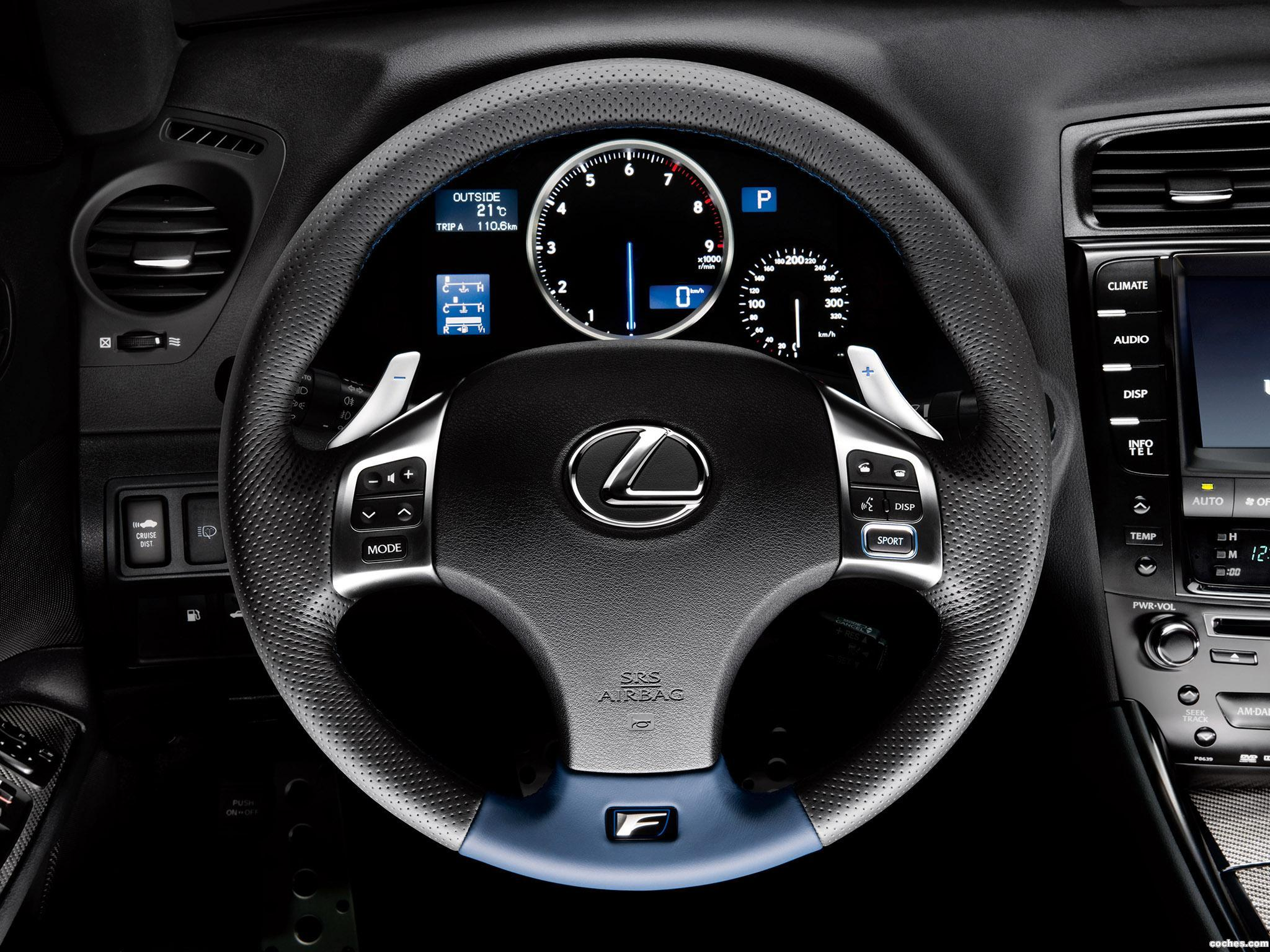 Foto 4 de Lexus IS-F 2010