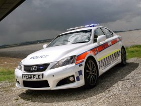 Fotos de Lexus IS-F Police 2009