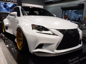Fotos de Lexus IS F-Sport Deviantart Robert Evans VIP Auto Salon 2013