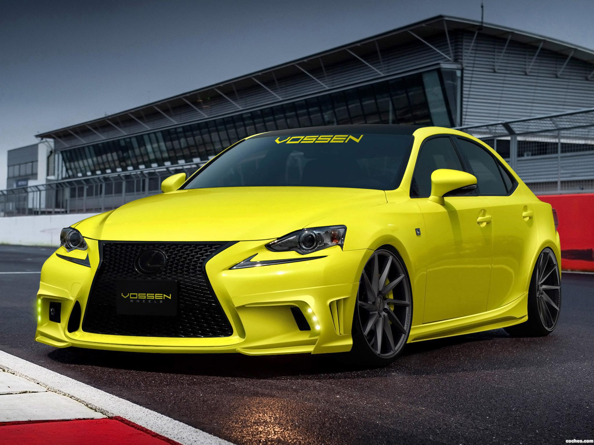 Foto 0 de Lexus IS350 F-Sport by Vossen Wheels 2013