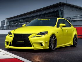 Fotos de Lexus IS350 F-Sport by Vossen Wheels 2013