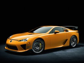 Fotos de Lexus LFA Nurburgring Package 2010