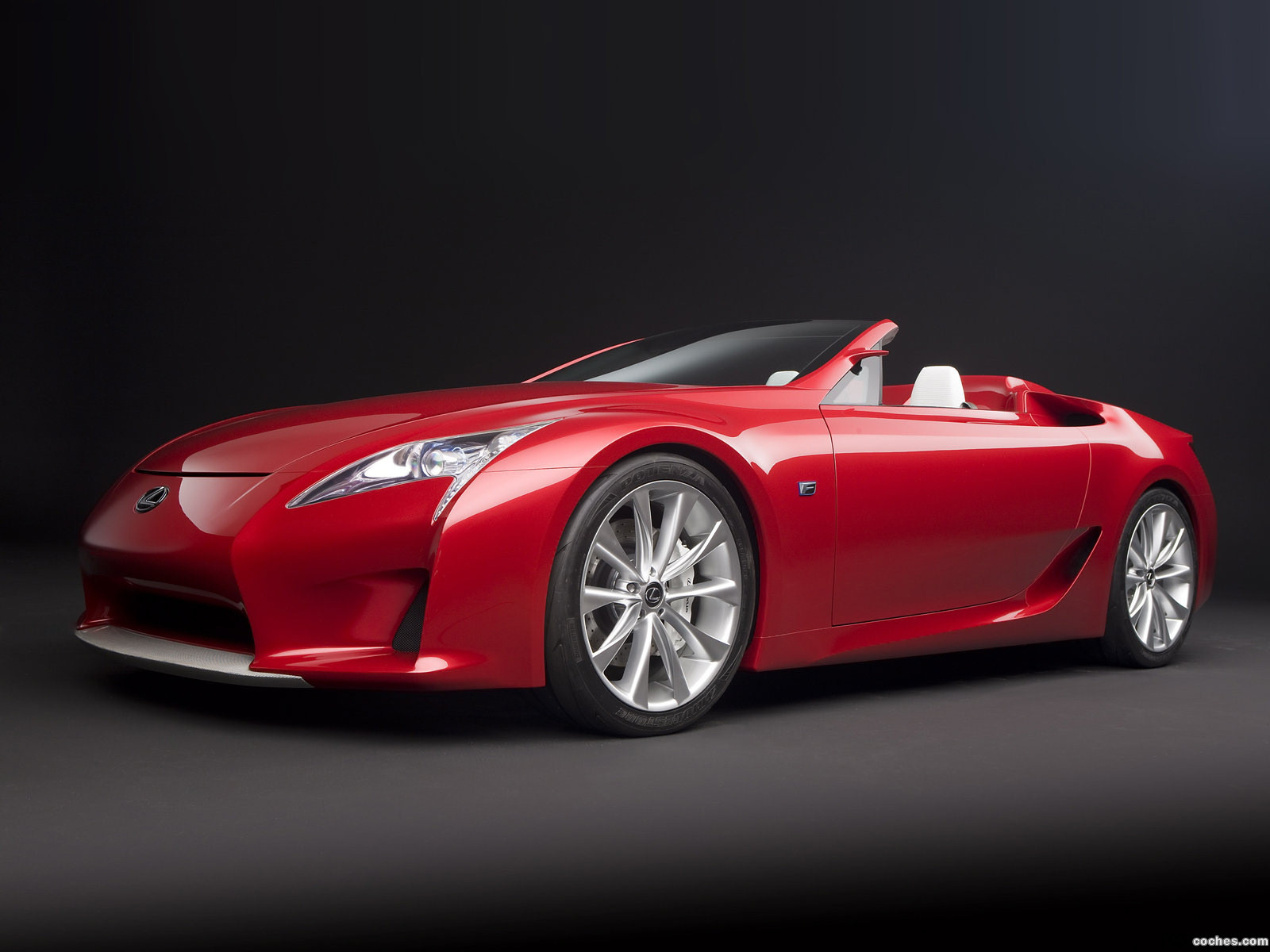Foto 0 de Lexus LFA Roadster Concept 2008