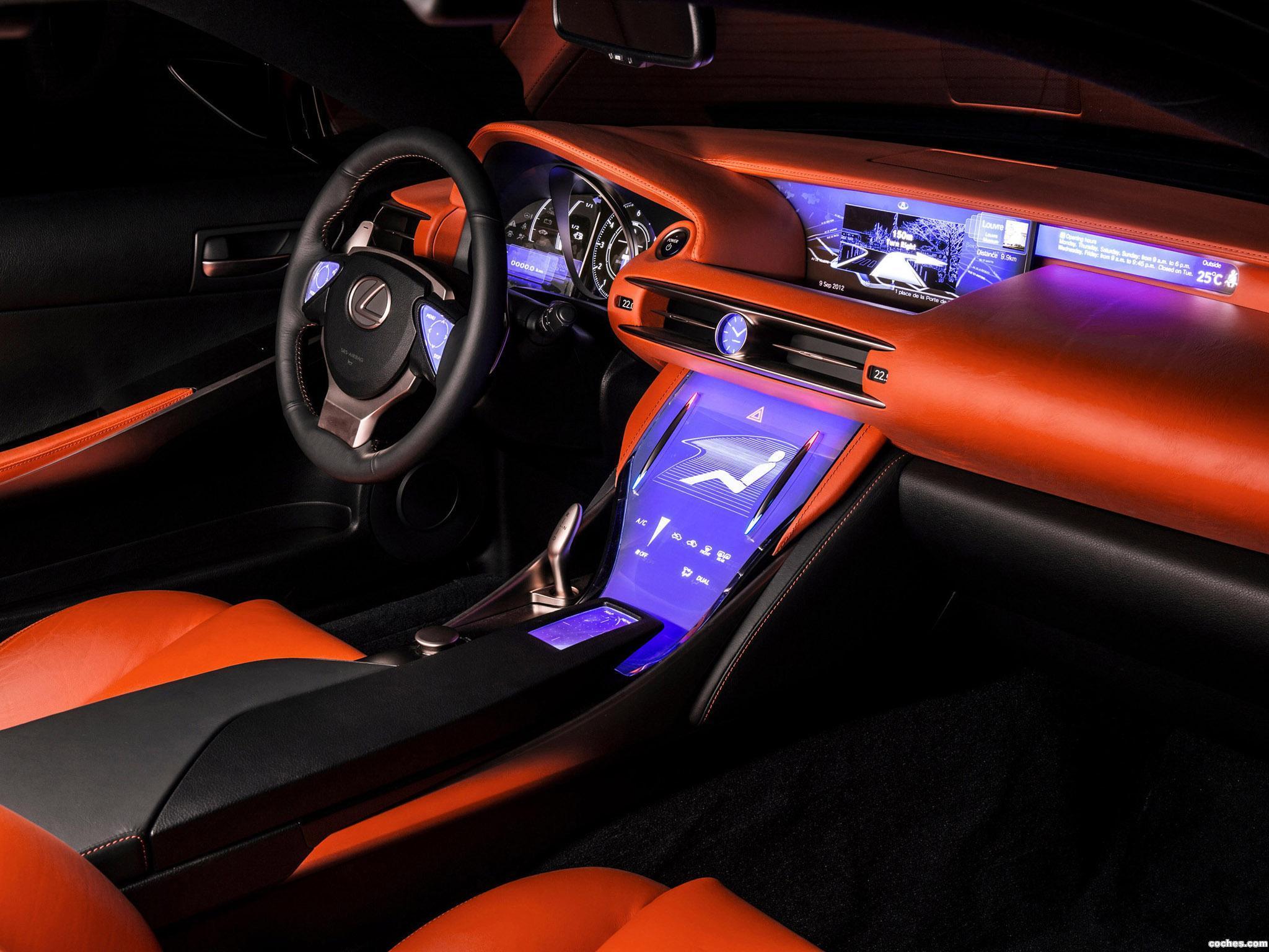 Foto 12 de Lexus LF-CC Concept 2012