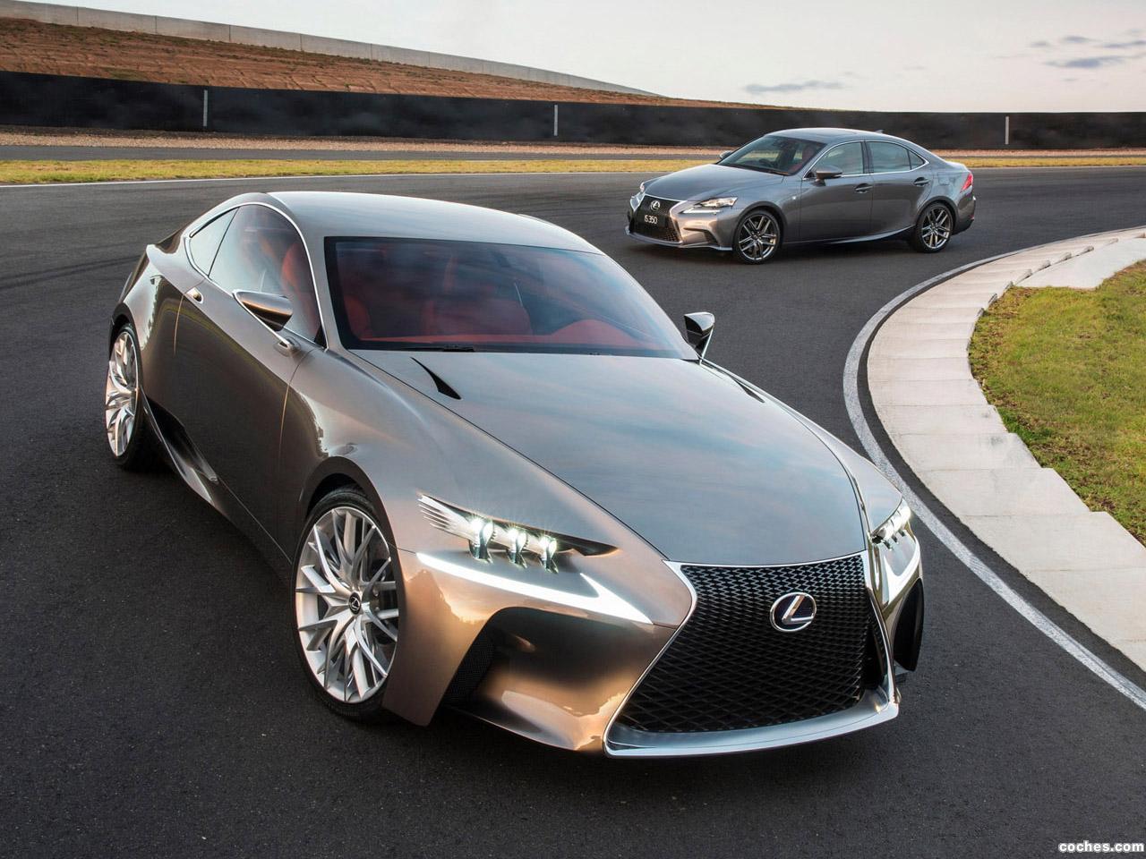 Foto 8 de Lexus LF-CC Concept 2012