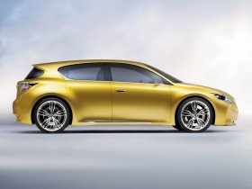Ver foto 4 de Lexus LF-Ch Concept 2009