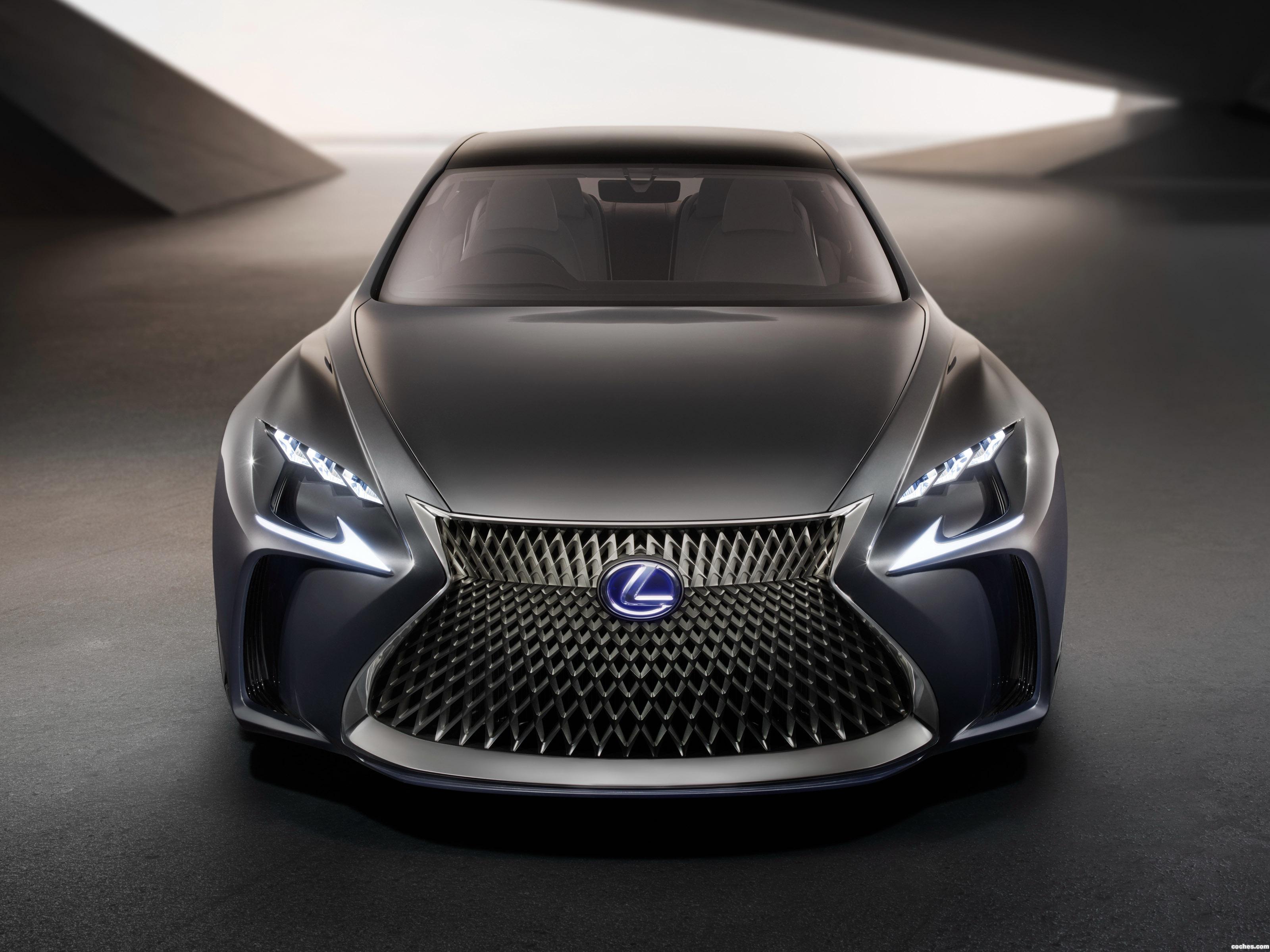 Foto 0 de Lexus LF-FC Concept 2015
