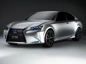 Ver foto 9 de Lexus LF-GH Concept 2011