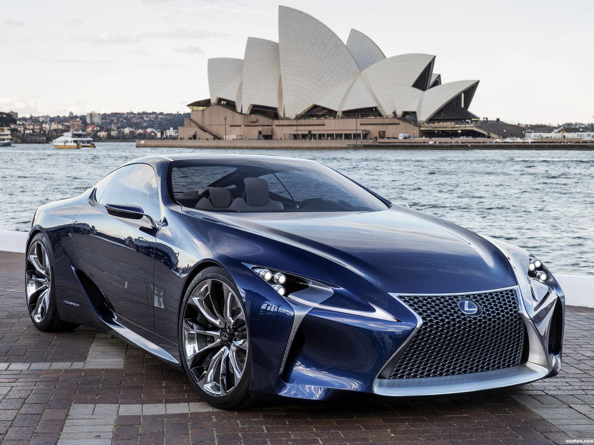 Foto 0 de Lexus LF-LC Blue Concept 2012