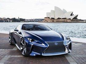 Ver foto 9 de Lexus LF-LC Blue Concept 2012