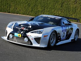 Fotos de Lexus LFA Code X 24 Hour Nurburgring Gazoo Racing 2014