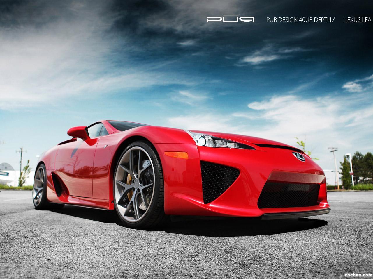 Foto 4 de Lexus LFA PUR Design 2012