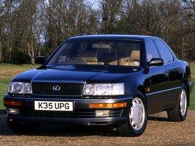 Fotos de Lexus LS 400 UCF10 UK 1990