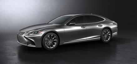 Lexus LS 500h Luxury Art Wood Awd