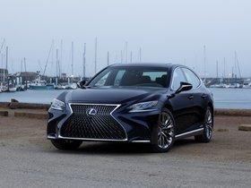 Fotos de Lexus LS500h USA 2017