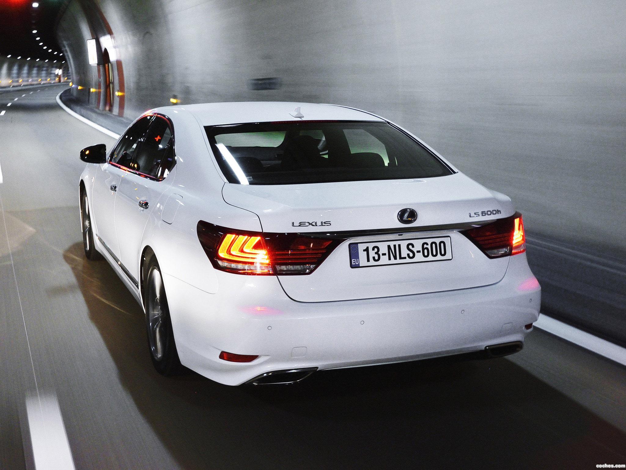 Foto 4 de Lexus LS 600h F-Sport Europa 2013