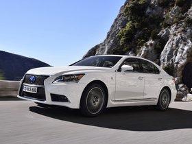 Ver foto 11 de Lexus LS 600h F-Sport Europa 2013