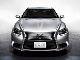 Fotos de Lexus LS 600h Japan 2012