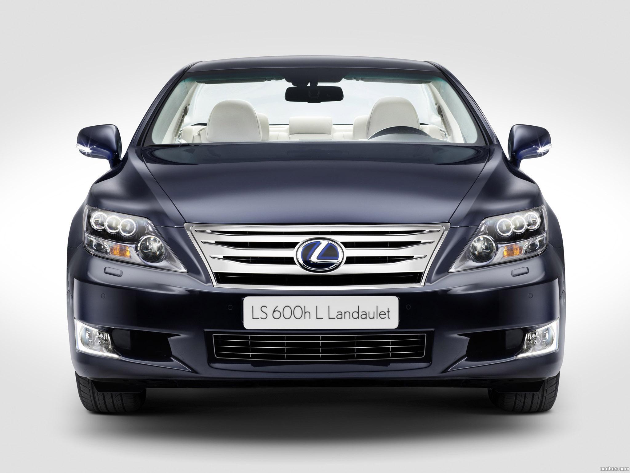 Foto 0 de Lexus LS 600h L Landaulet 2011