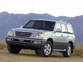 Ver foto 2 de Lexus LX 470 Facelift 2003