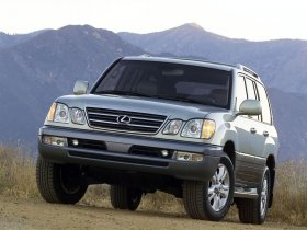 Ver foto 1 de Lexus LX 470 Facelift 2003