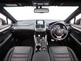 Ver foto 8 de Lexus NX 300h F-Sport Australia 2014