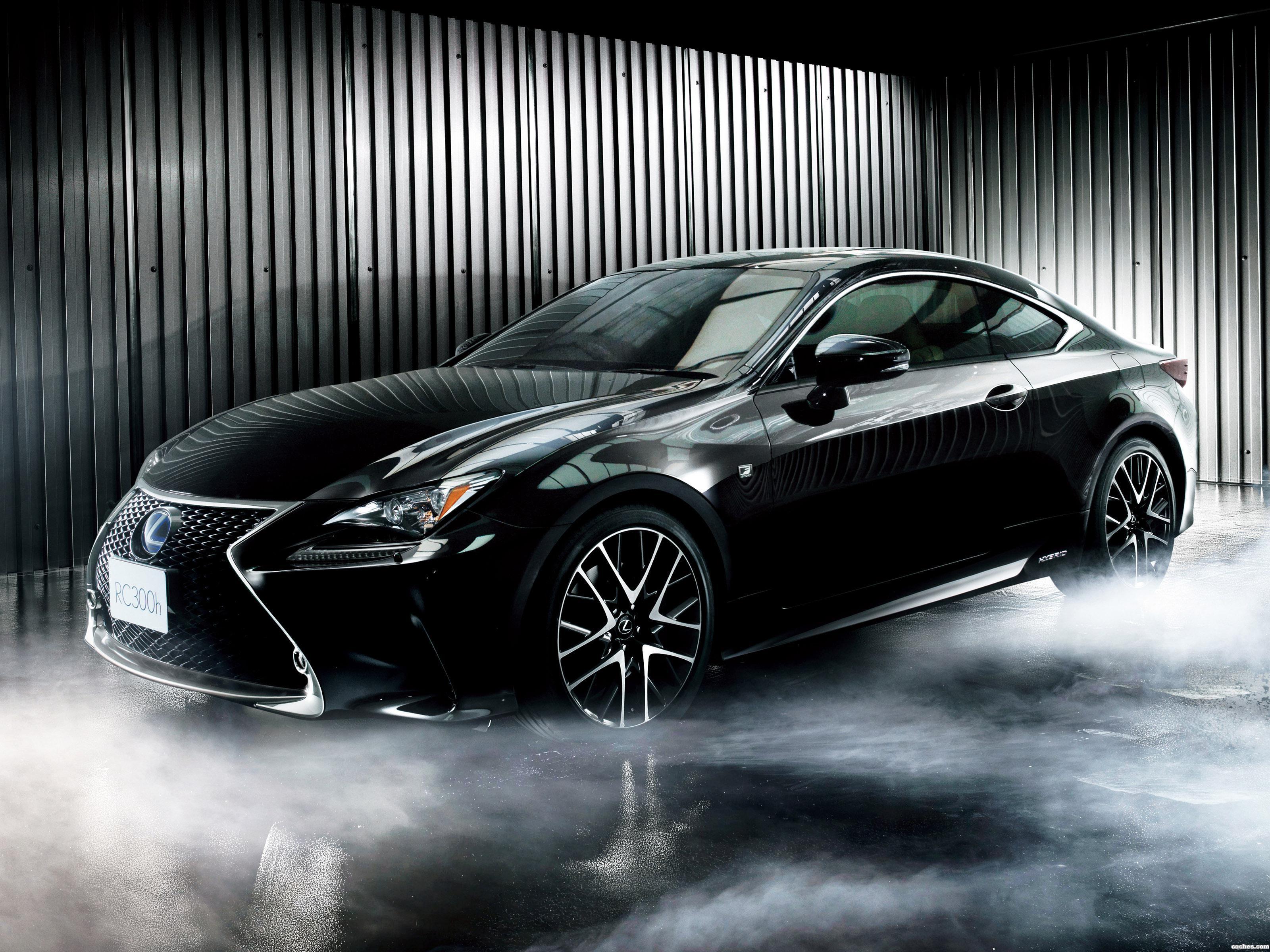 Foto 0 de Lexus RC 300h F-Sport Japan 2014