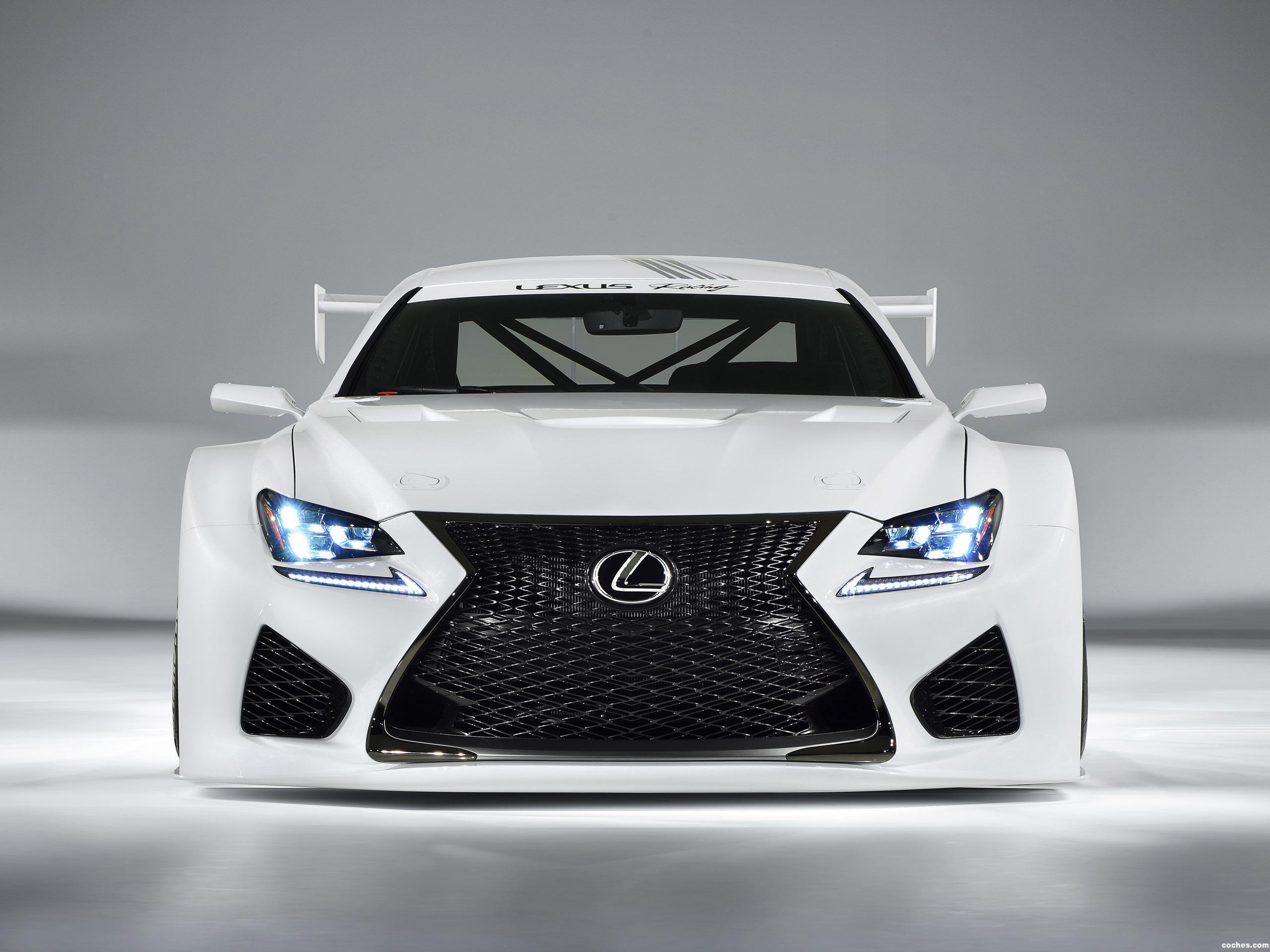 Foto 0 de Lexus RC-F GT3 Concept 2014