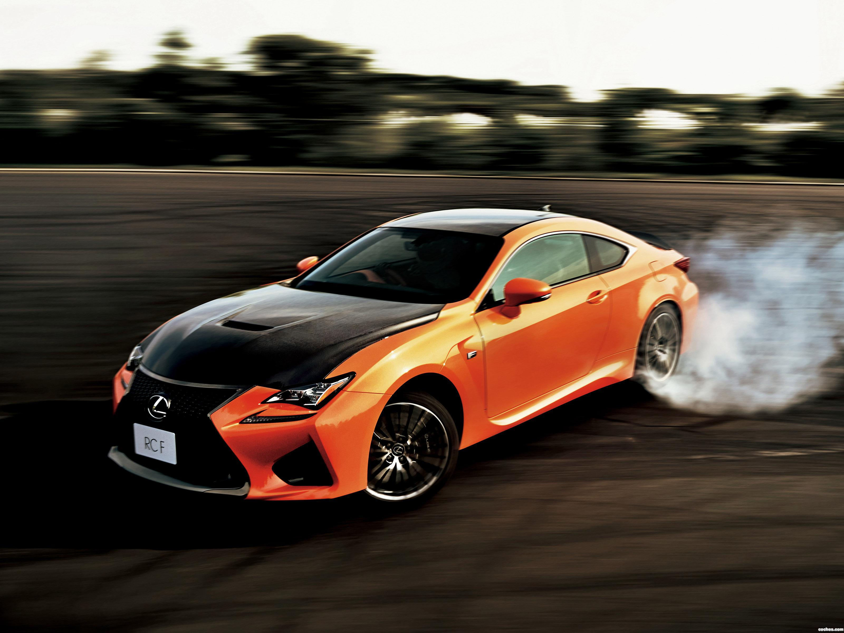 Foto 0 de Lexus RC F Japan 2014