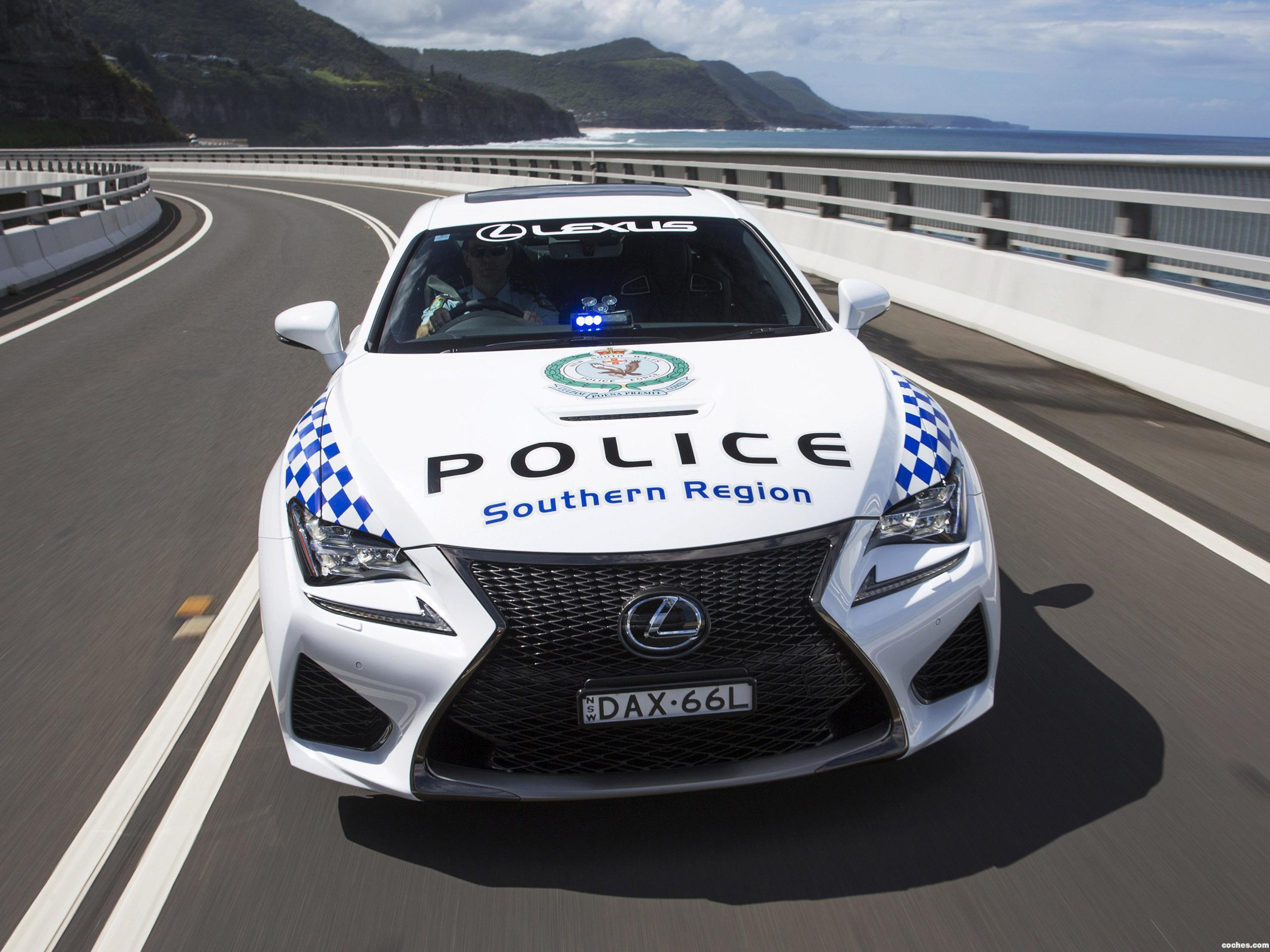 Foto 1 de Lexus RC-F Police Car Australia 2016
