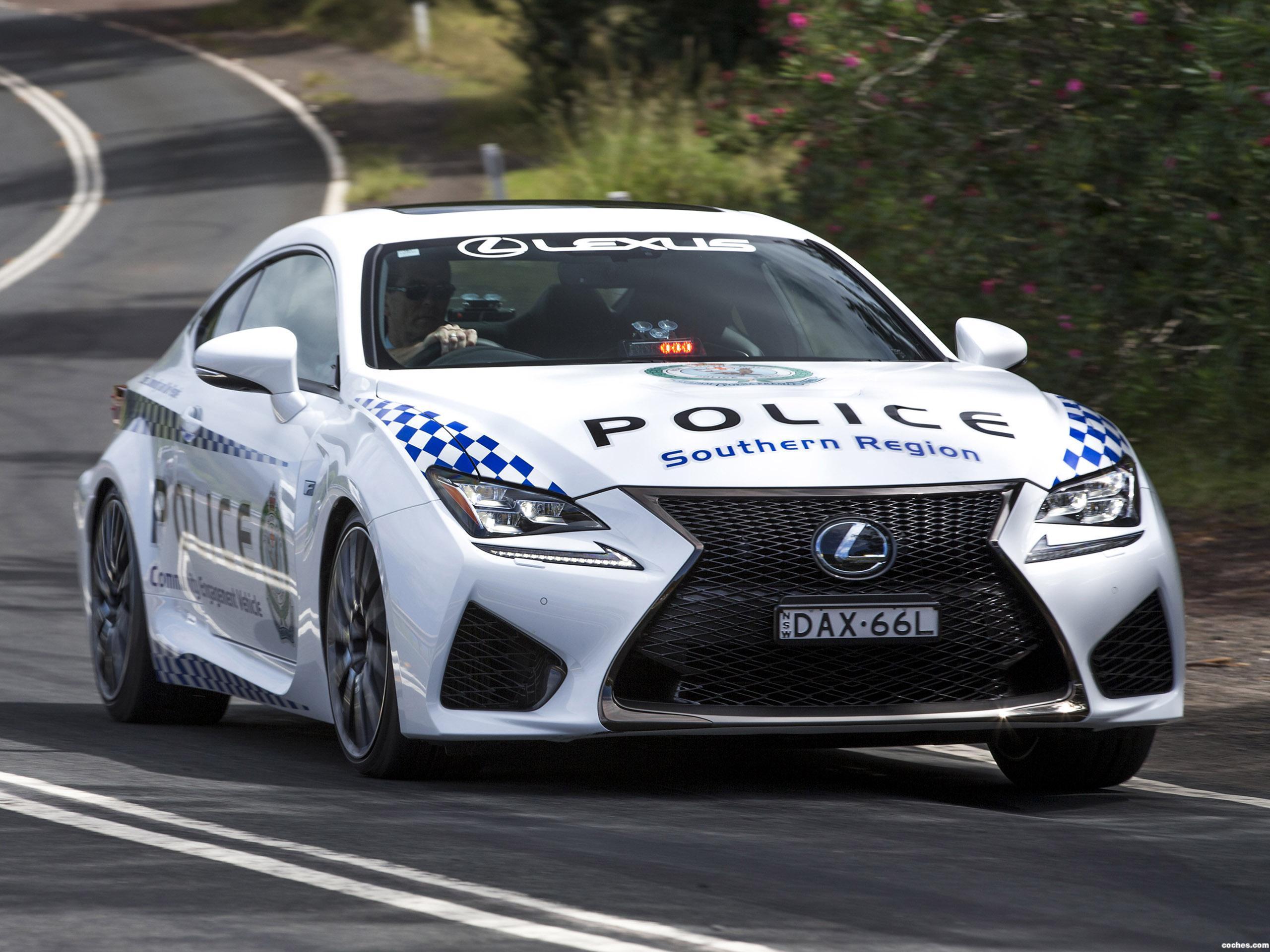 Foto 0 de Lexus RC-F Police Car Australia 2016