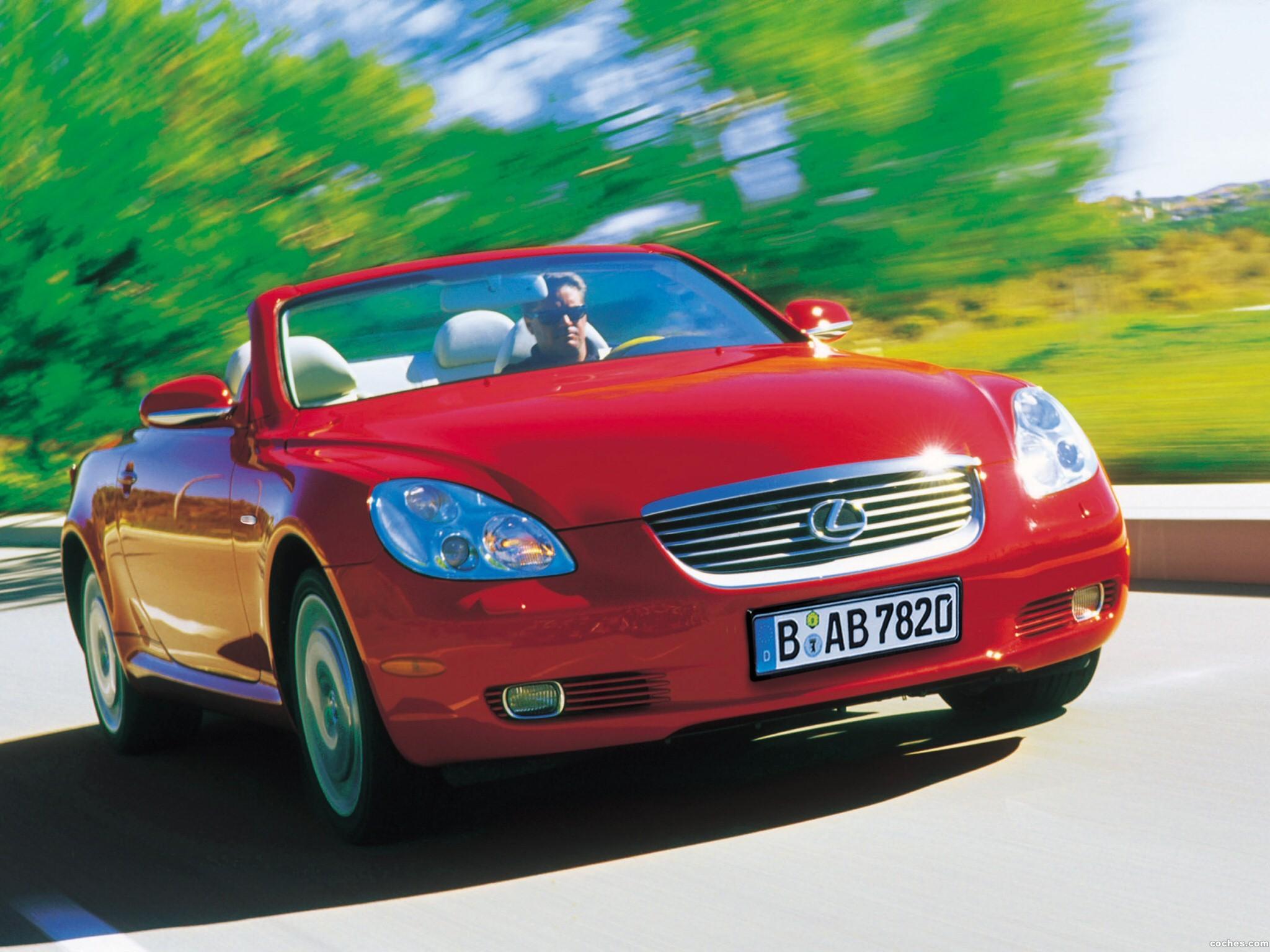 Foto 18 de Lexus SC 430 2001