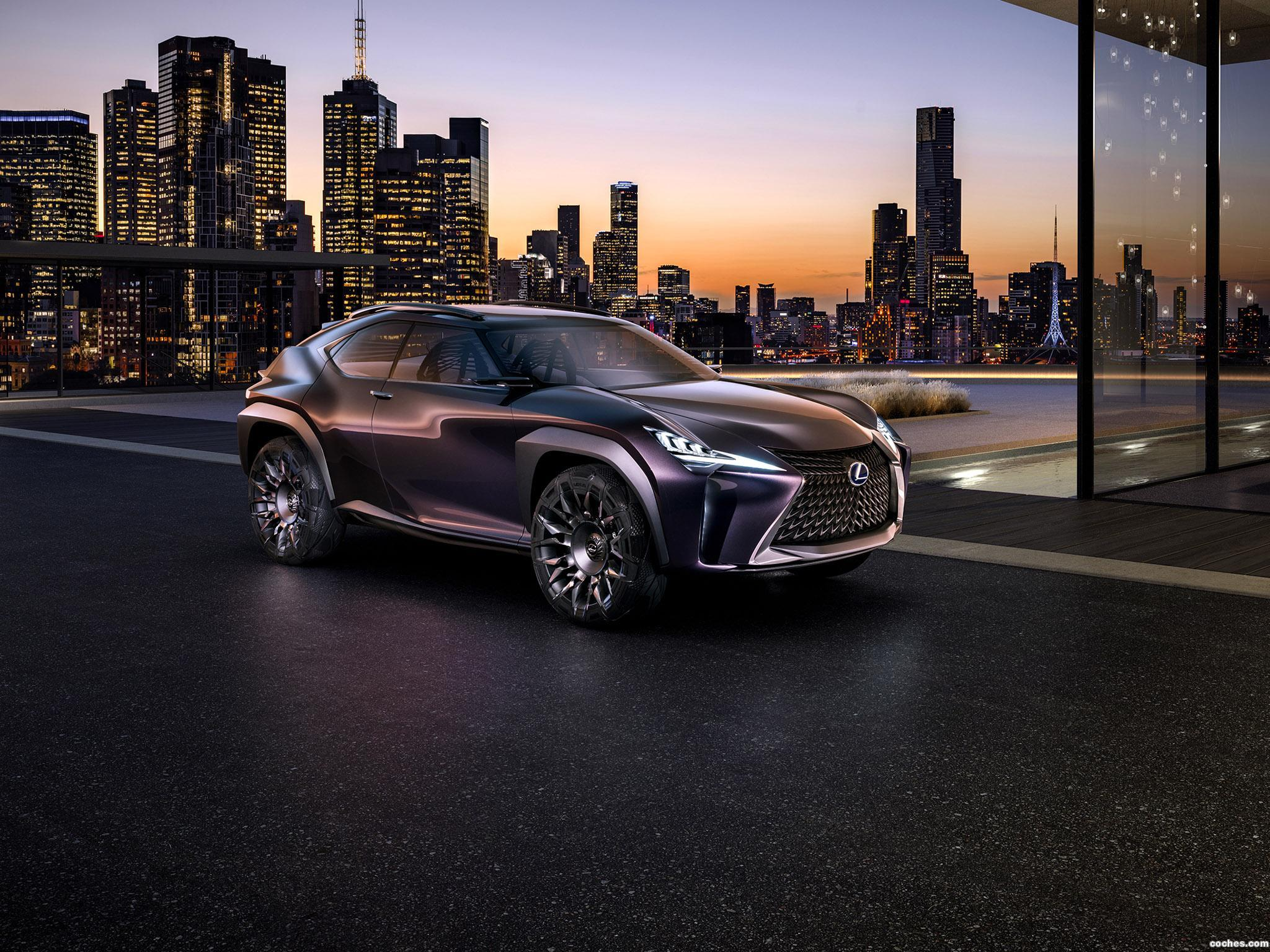 Foto 0 de Lexus UX Concept 2016