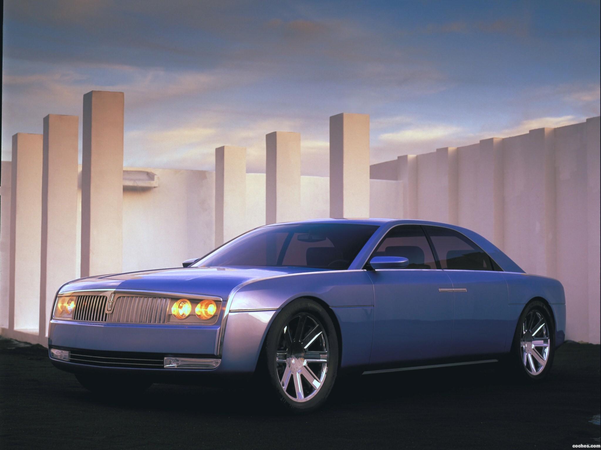 Foto 0 de Lincoln Continental Concept 2002