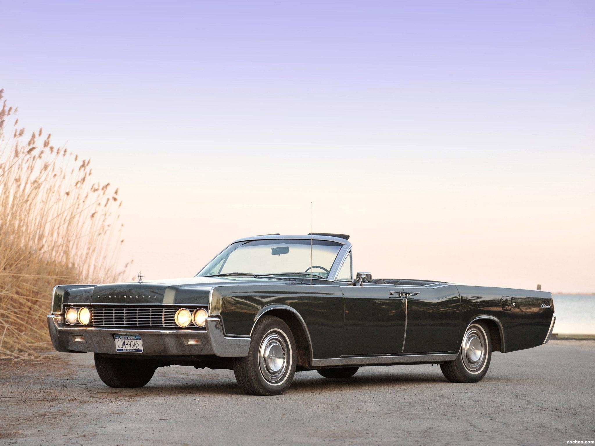 Foto 0 de Lincoln Continental Convertible 1967