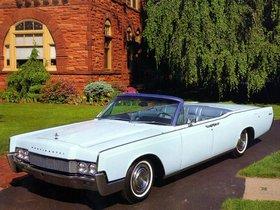 Ver foto 2 de Lincoln Continental Convertible 1967