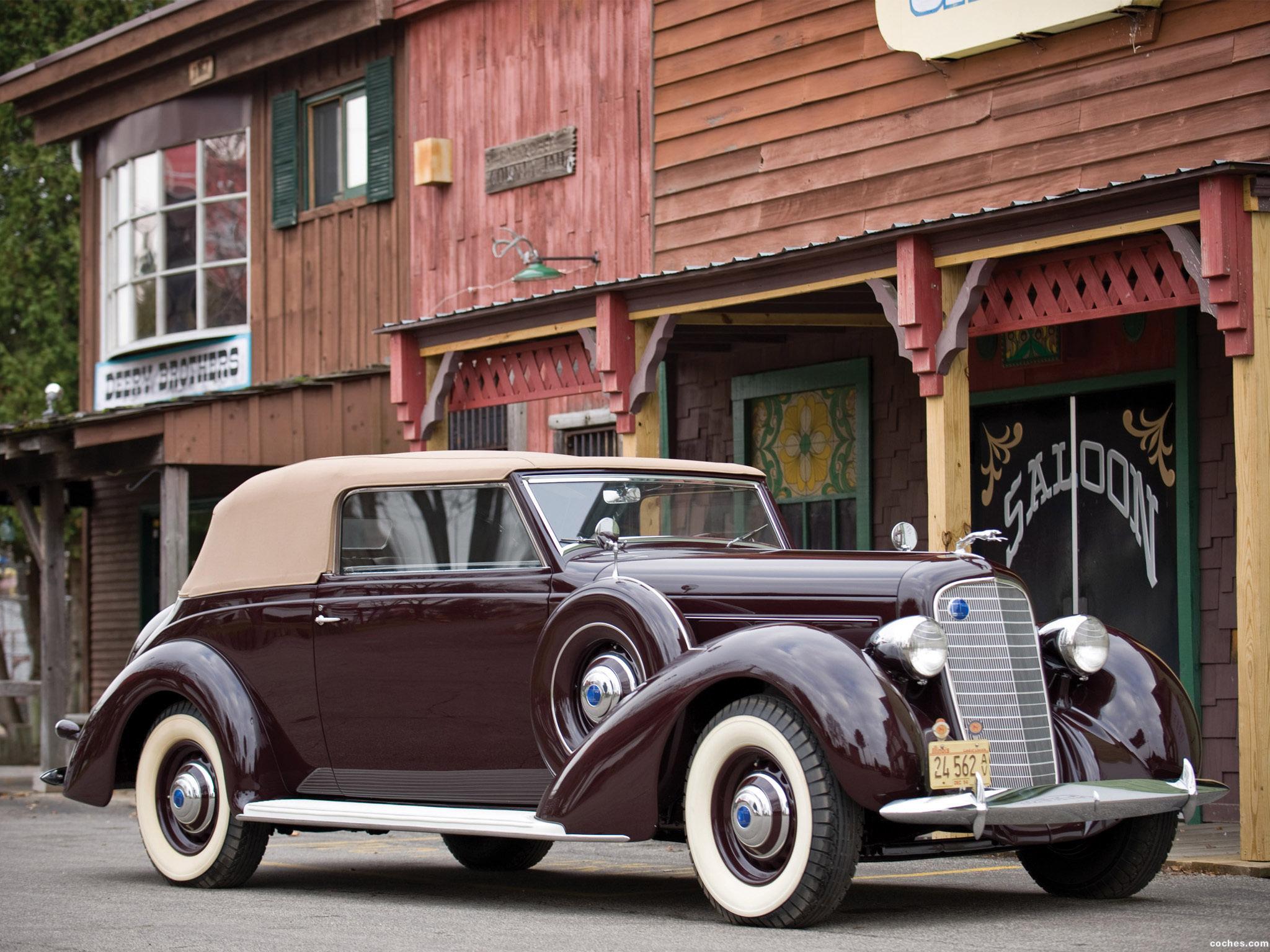 Foto 0 de Lincoln K Convertible Victoria 1937