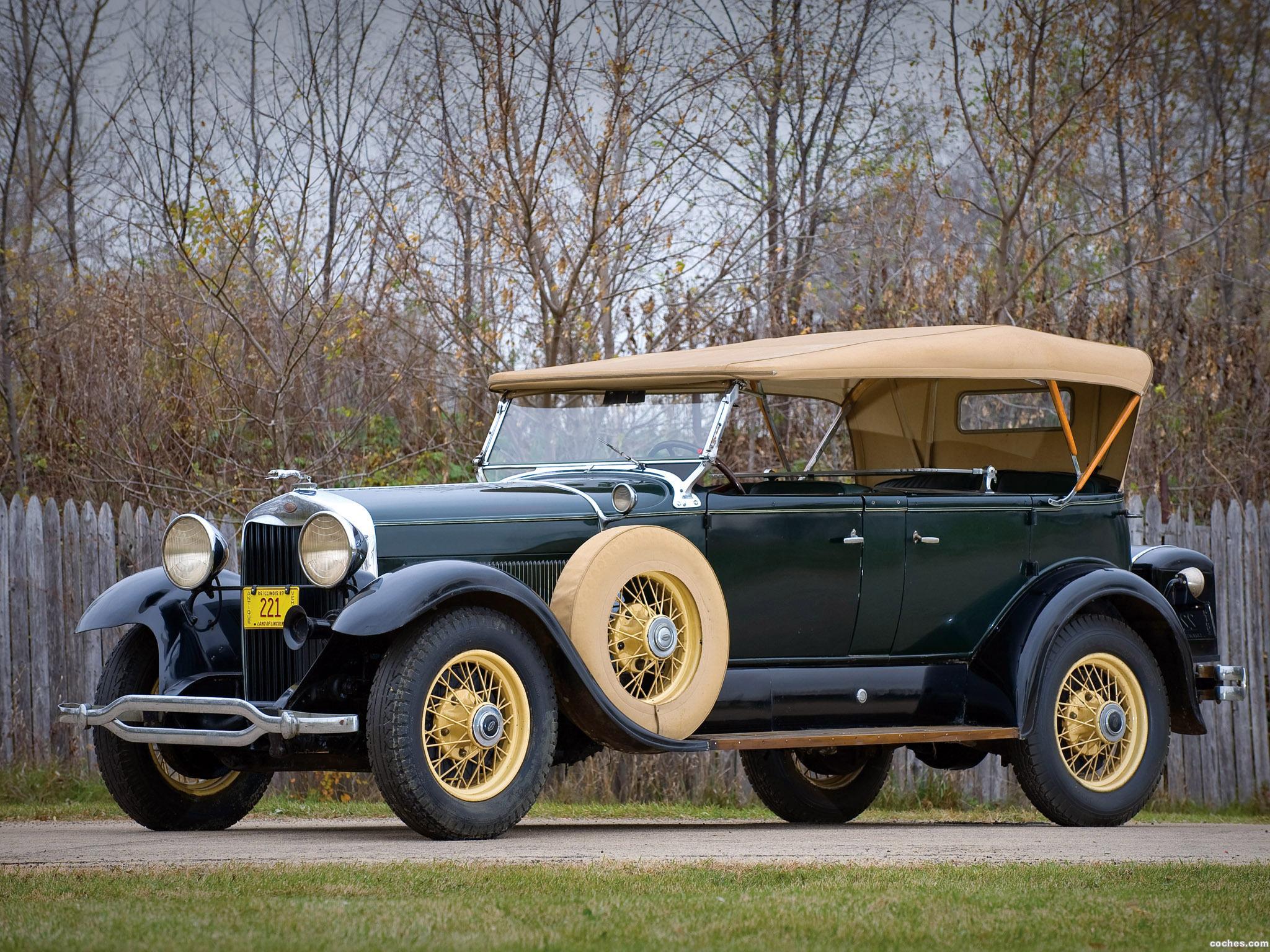 Foto 0 de Lincoln K Dual Cowl Sport Phaeton 1930