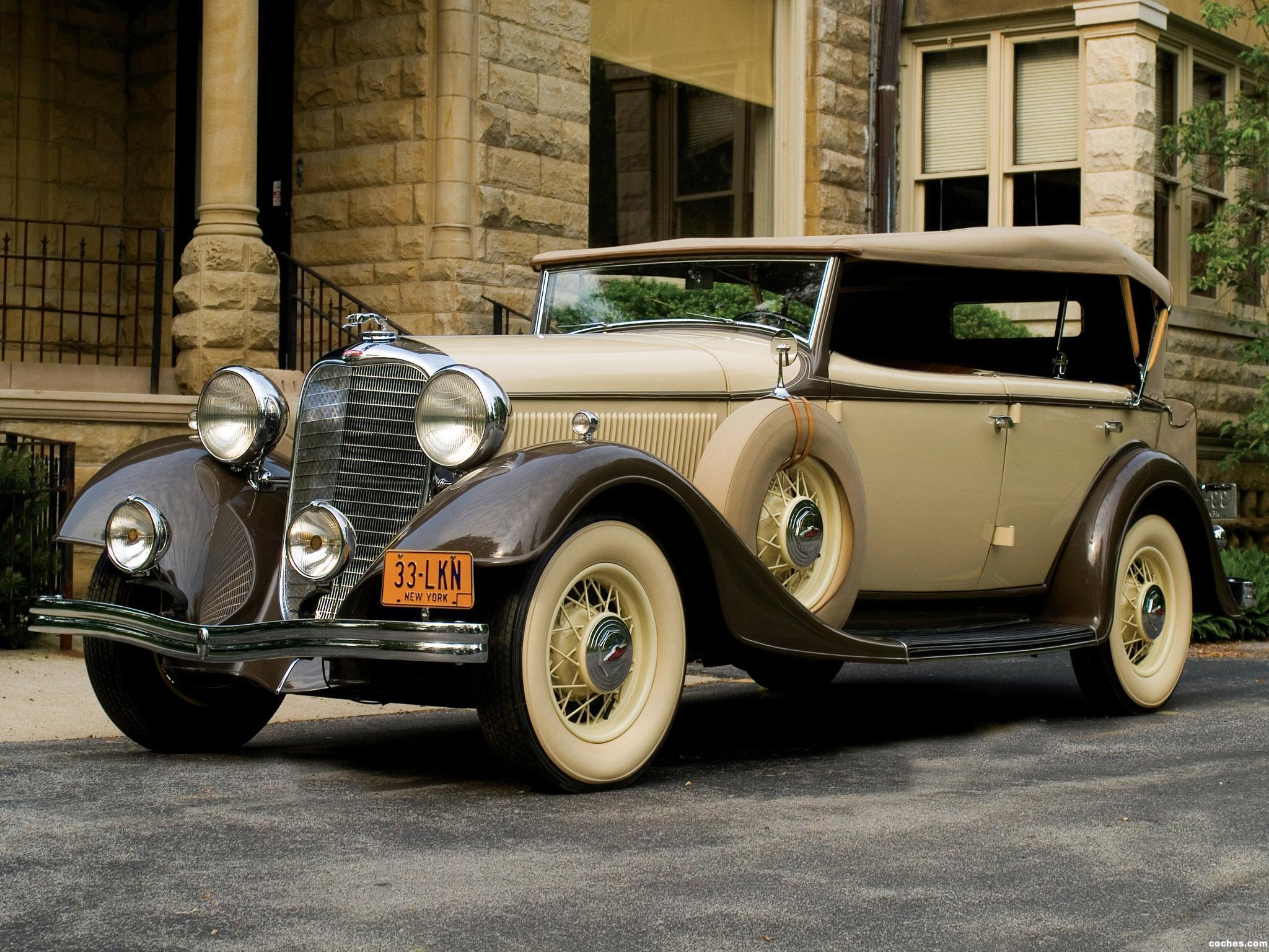 Foto 0 de Lincoln Ka Dual Cowl Phaeton by Dietrich 1933