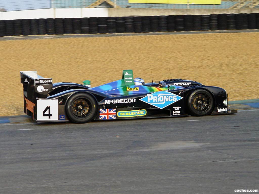 Foto 2 de Jaguar Lister Storm LMP 2003
