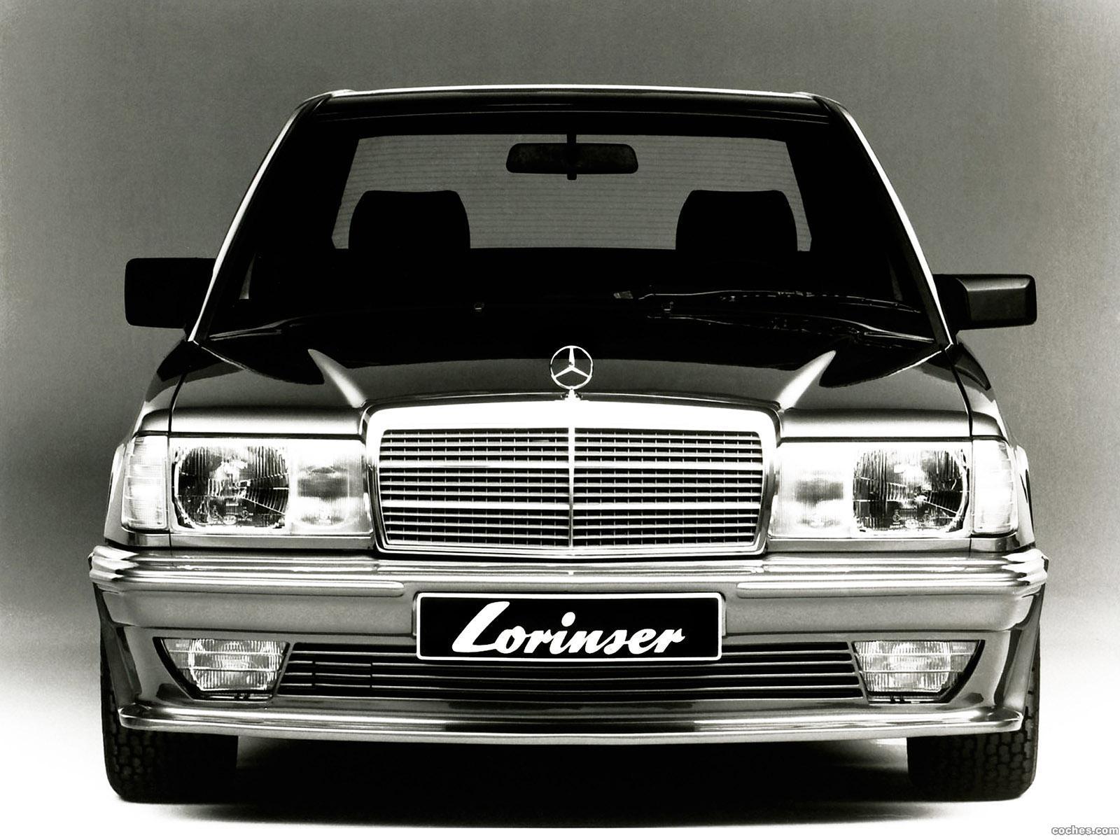 Foto 0 de Mercedes 190 E by Lorinser (W201) 1982